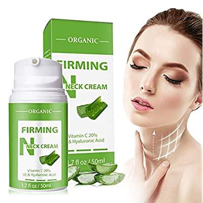 Amazon - 65% Off on Neck Firming Cream, Anti Aging Cream for Neck & Décolleté, Reuducing Neck Wrinkles