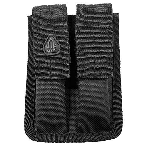 UTG Dual Pistol Mag Pouch, Velcro Close