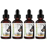 RestoraPet 4 Pack Unflavored Organic Pet Supplement for Dogs & Cats | Healthy & Safe Antioxidant Liquid Drops | Anti-Inflammatory Multi-Vitamin | Increases Mobility, Energy & Reduces Joint Pain