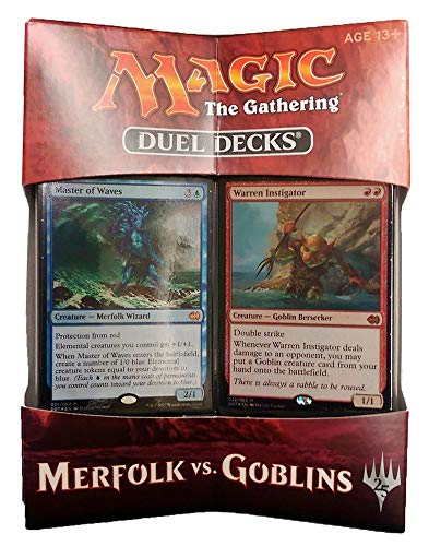 Magic the Gathering Duel Decks Merfolk vs. Goblins - English