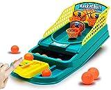 N\A ZT Mini Desktop Basketball Game Rack Table Dedo Egy Eyy Machine Padre Educativo para niños Juguetes interactivos (Color : A)