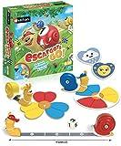 Nathan - Les Escargots Go! - Jeu de société pour enfant dès 4 ans avec 2 modes de jeu