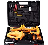 VOLTZ TY35SP ELECTRIC JACK 12V DC 2T ton Electric Scissor Jack and Electric Impact Wrench and Inflator Pump 3-in-1 Car Repair Tool Kit