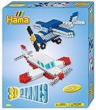 Hama- Midi-Gift Box-3D Planes, 3242