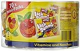 nimm2 Lachgummi minis Dose - Spaßiges Fruchtgummi mit Vitaminen - (1 x 735g Beutel)