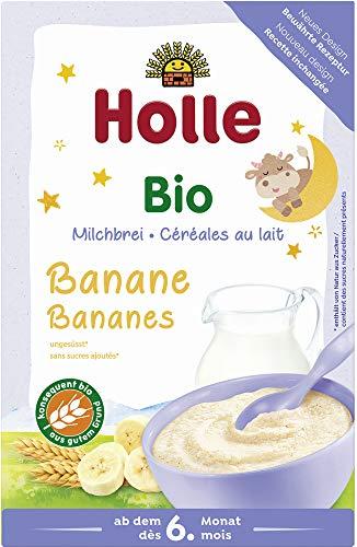 Holle Bio Bio-Milchbrei Banane Guten Abend (2 x 250 gr)