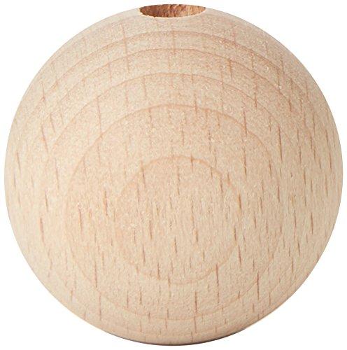 efco 630mm unbehandeltem Holz mit Kugeln 6mm Durchmesser Loch, braun
