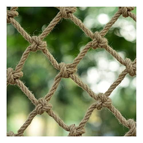 Redes de cáñamo de yute, retro decoración redes, neta anti-caída, techo Productos netos decorativos neta de la red de la cuerda de la red de la red de la pared Accesorios de decoración de la pared red