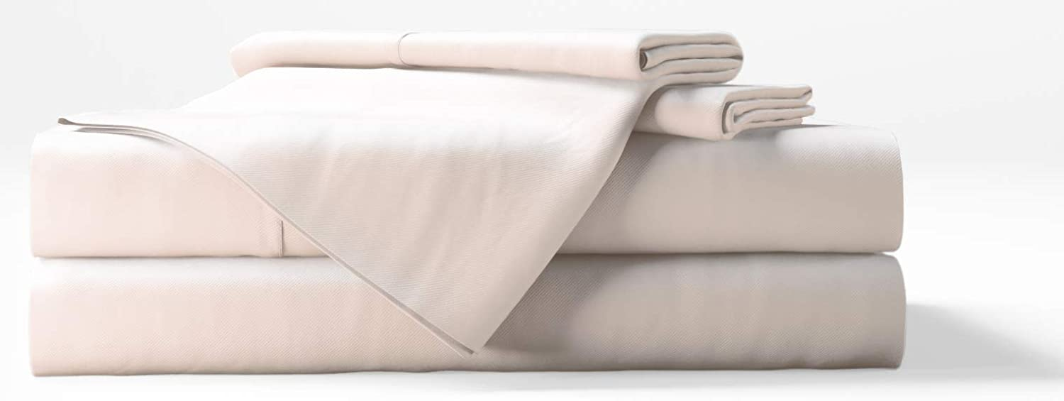 Bamboo Tranquility Bamboo Sheets Supreme Quality 4 Piece Bamboo Bed Sheets Set (Queen, Ivory)
