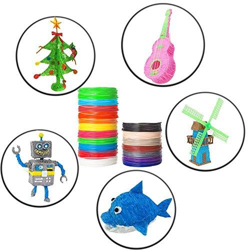 NuoYo PLA Filament 3D Stift PLA Filament 1.75mm 3D Pen 20 Farben 3D Print Filament 3D Printer Material 1.75mm für 3D Drucker 10m/1pcs - 7