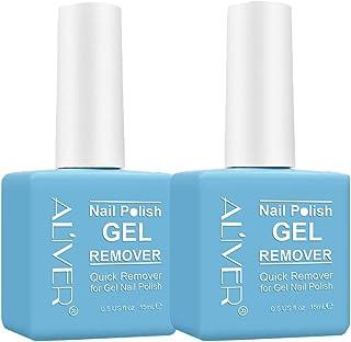 Removedor de esmalte de uñas Magic (2 piezas) removedor de Magic removedor de esmalte de gel Magic Soak-Off profesional...