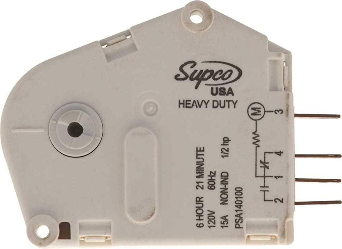Supco SPA1401AD Defrost Timer For Admiral 55467 1