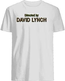 Directed by David Lynch T-shirt Customized Handmade T-shirt For Men For Women