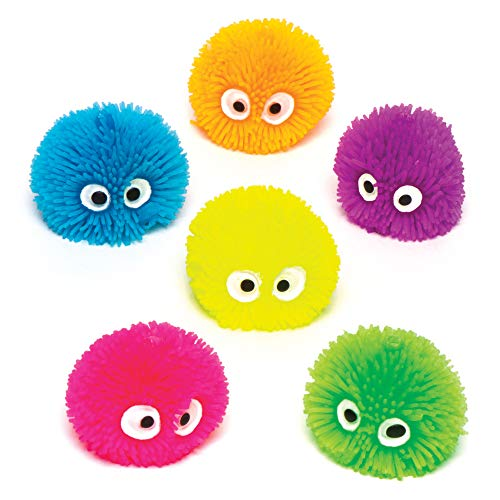 Squeezy Hedgehog Heads (Pack of 6)