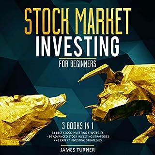 Stock Market Investing for Beginners: 3 Books in 1 audiobook cover art