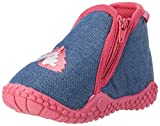 Playshoes Unicorno P, Pantofole Bambina, Blu (Jeansblau 3), 20/21 EU