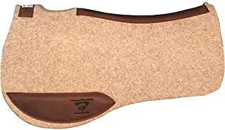 Diamond Wool Endurance Contoured Cowboy Square Pad