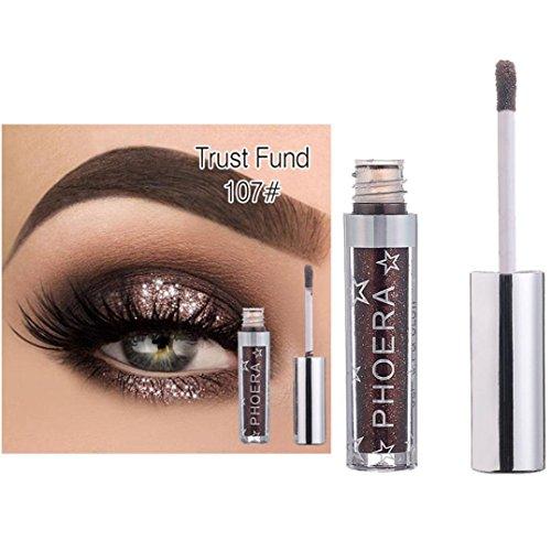 Gaddrt Magnificent Metals Glitter and Glow Liquid Eyeshadow Liquid Eyeliner Eye Highlighter (G)
