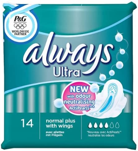 Always Ultra Sale Pads Normal Max 58% OFF with 14 Wings 4 x