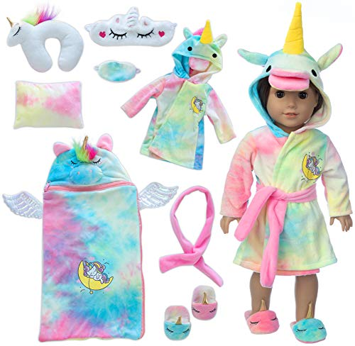 Ecore Unicorn Nighttime Set with Mask, Pillow, and Accessories