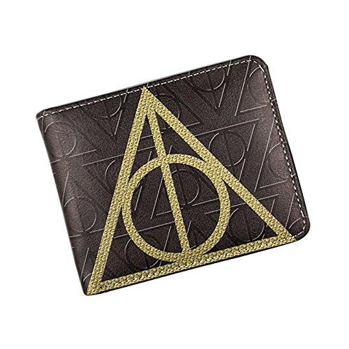 Harry Potter Heiligtümer des Todes Deathly Hallows Portemonnaie Geldbörse, braun