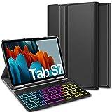 ELTD Teclado Estuche para Samsung Galaxy Tab S7 (SM-T870/875) 11 Pulgada,[Español, con la tecla...