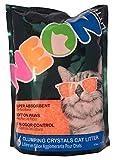 Neon Clumping Silica Gel Cat Litter, 4 lb, Orange
