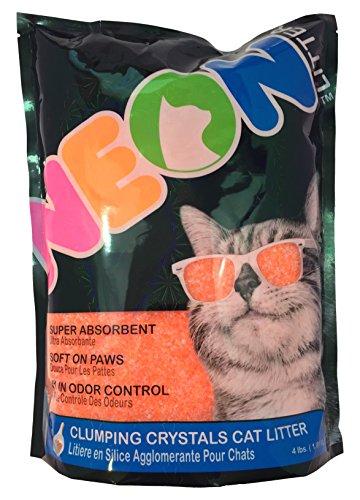 Neon Clumping Silica Gel Cat Litter