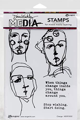 Dina Wakley Media Change DINA WAKLEY Cling ST
