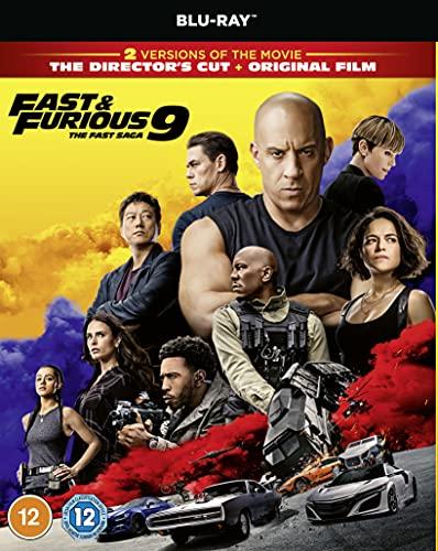 Fast & Furious 9 [Blu-ray] [2021] [Region Free]