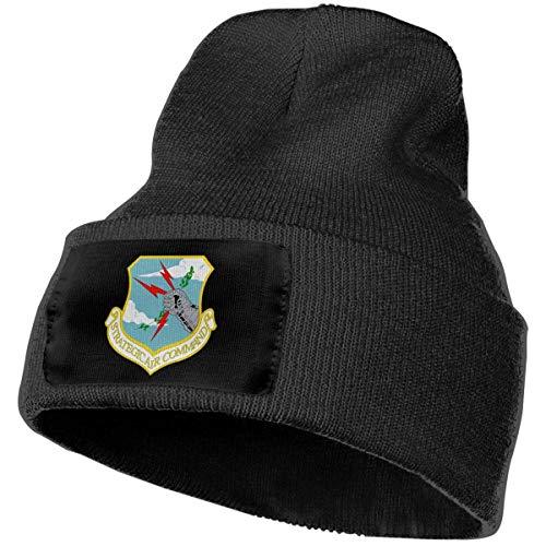 shenguang Cappello Invernale di Comando Aereo strategico Cappello Caldo Lavorato a Maglia Cappello di Lana Cappellino per orinatoio Senza Tesa