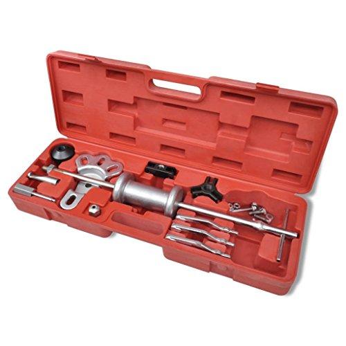 Xinglieu Set extracteurs Marteau Coulissant pour Axes Facile à Utiliser, Transporter et fixez Accessoires pour véhicules boîte à Outils du véhicule
