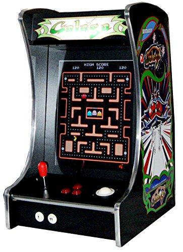 US-Way e.K. G-288 Galaga Arcade Video Maschine TV Spielautomat Thekengerät Cabinet Automat 412 Spiele Jamma Games Machine