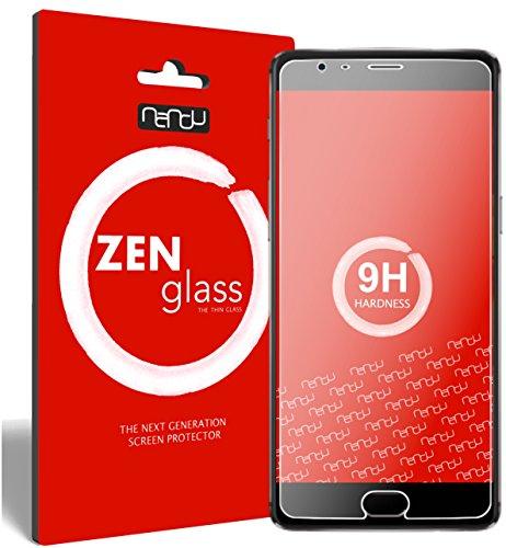 ZenGlass Flexible Glas-Folie kompatibel mit OnePlus 3T Panzerfolie I Display-Schutzfolie 9H I (Kleiner Als Das Gewölbte Display)