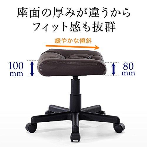 サンワダイレクト『オットマンリラックス足置き台』