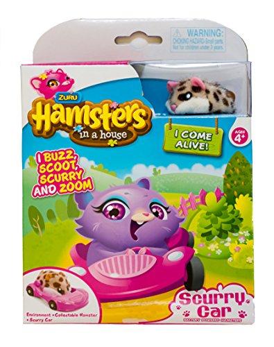 Zuru Hamsters in a house ~ Scurry Car ~ Peanut