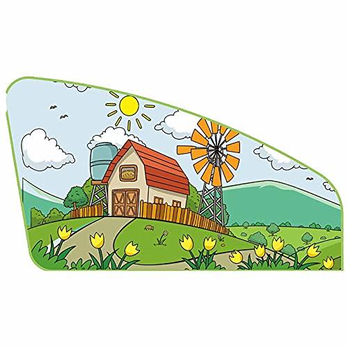 Parasol de coche para ventana de coche, cortina de protección para niños, adultos, visera para coche, conductor, ventana, colores mixtos