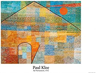 Set: Paul Klee, Ad Parnassum, 1932 Poster (36x24 inches) and 1x 1art1 Collection Poster