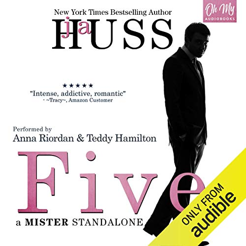 Five audiobook cover art