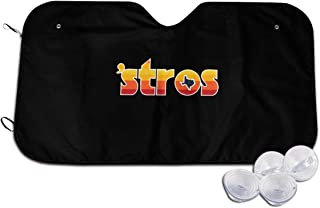 Iponvx Astro Inspired Stros Throwback Windshield Sun Shade Car Windshield Sun Shade Keeps Your Vehicle Cool Universal Fit