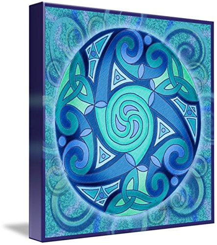 Wall Art Print entitled Celtic Planet by Kristen Fox