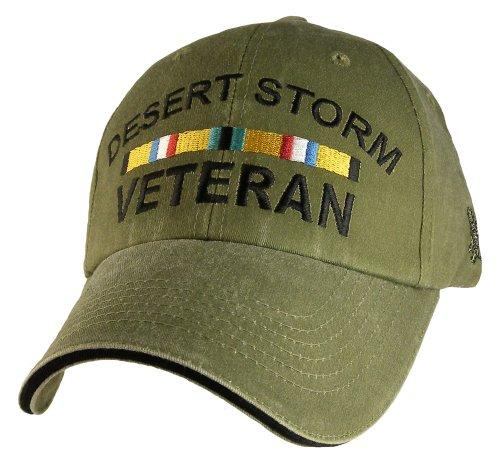 EAGLE CREST Desert Storm Veteran with Ribbon Cap Green
