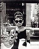 Frühstück bei Tiffany Audrey Hepburn Window Poster Plakat