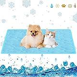 Alfombra Refrescante para Perro,60*50cmColchon Mascotas para Verano,Enfriamiento para Camas de...