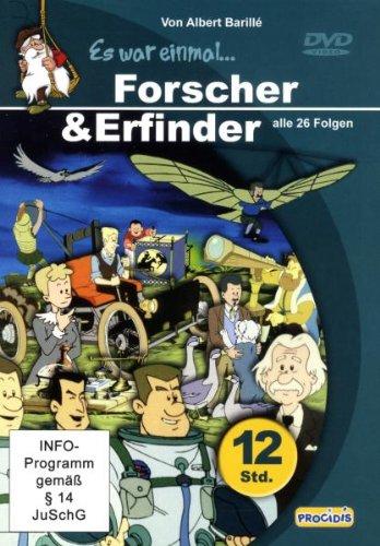 Es war einmal ... Forscher & Erfinder (6 DVDs im Geschenkschuber)