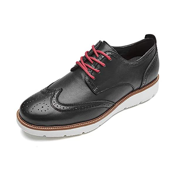 LAOKS Mens Wingtip Dress Shoes, Lace-up Oxford, Fashion Sneaker