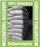 1 x 825 kg (55 sacco) palette 8 mm Feelino Miscanthus lettiera per grandi animali – lett...