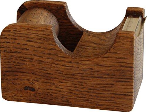 オークヴィレッジ テープカッター 小 ブラウン 幅7.3×奥行3.9×高さ4.6cm 01015-11