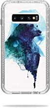 MightySkins Skin Compatible with Lifeproof Next Case Samsung Galaxy S10+ - Spirit Bear   Protective, Durable, and Unique Vinyl Decal wrap Cover   Easy to Apply, Remove   Made in The USA