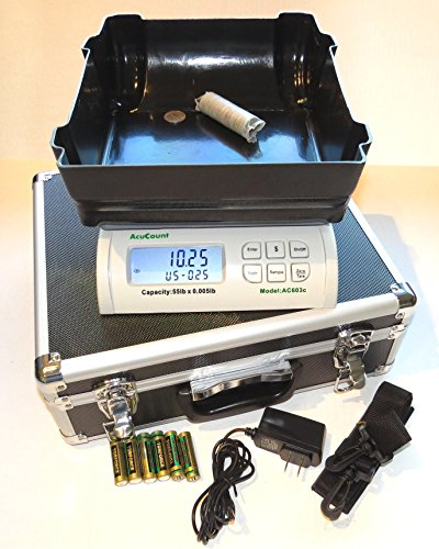 Acucount AC 603 Coin counting scale and Money Counter